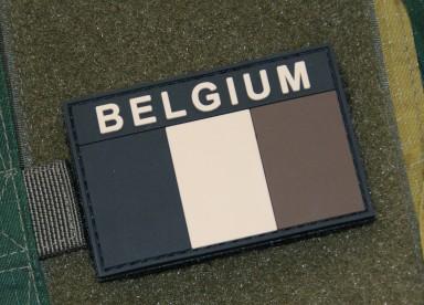 BELGIUM PVC PATCH